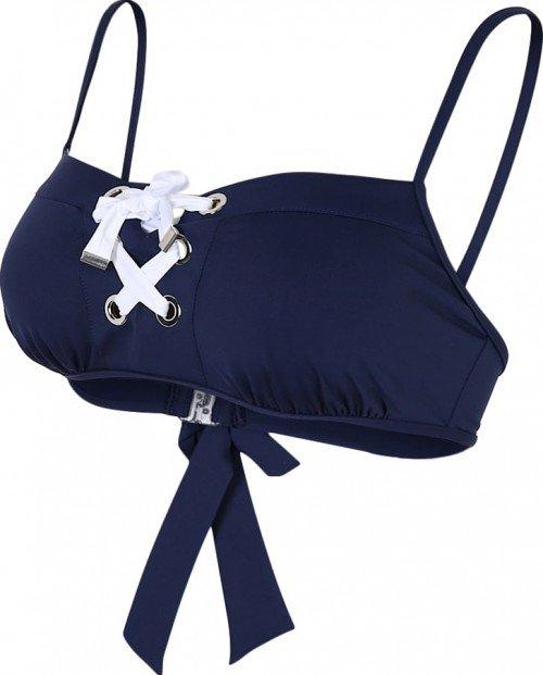 cache coeur bikini top